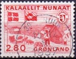 GROENLAND 1986 PTT Van Groenland GB-USED. - Greenland