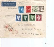 Indes Néérlandaises ( Lettre Recommandée Par Avion De 1949 De Galang Vers La Suisse à Voir) - Nederlands-Indië
