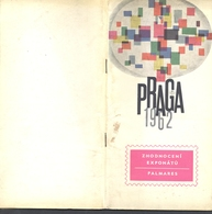 STAMP MAGAZINES, PRAGUE 1962WORLD PHILATELIC EXHIBITION, PRESENTATION BOOK, PICTURES, 1962, CZECHOSLOVAKIA - Revistas