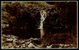 Ref 1268 - Judges Real Photo Postcard - Cascade Near Llyn Cwm Bychan - Montgomeryshire Wales - Montgomeryshire