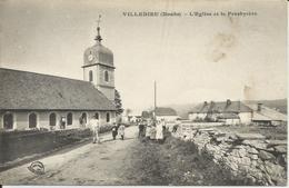 Villedieu (Doubs) - L'église Et Le Presbytère - Animation - Autres Communes