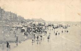 Ostende (?) - Sur La Plage Avec Les Roulottes - Oostende