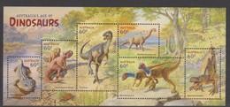 Australia ASC 3144MS 2013 Dinosaurs, Miniature Sheet,mint Never Hinged - 2010-... Elizabeth II