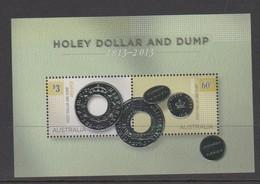 Australia ASC 3151MS 2013 Holey Dollar And Dump, Miniature Sheet,mint Never Hinged - 2010-... Elizabeth II