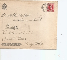 Belgique ( Lettre De 1930 De Bois-de-Breux Vers Le Congo Belge à Voir) - 1922-1927 Houyoux