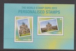 Australia ASC 3158MS 2013 World Stamp Expo, Miniature Sheet,mint Never Hinged - 2010-... Elizabeth II