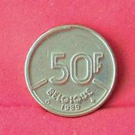 BELGIUM 50 FRANCS 1989 -    KM# 168 - (Nº27530) - 1951-1993: Baudouin I