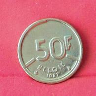 BELGIUM 50 FRANCS 1987 -    KM# 169 - (Nº27531) - 1951-1993: Baudouin I