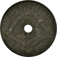 Monnaie, Belgique, 10 Centimes, 1942, TB+, Zinc, KM:125 - 02. 10 Centimes