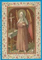 Holycard    St. Christina Mirabilis - Santini
