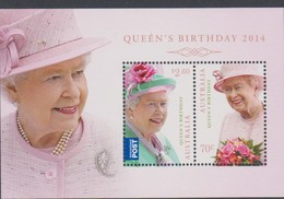 Australia ASC 3183MS 2014 Queen Elizabeth II Miniature Sheet,mint Never Hinged, - 2010-... Elizabeth II