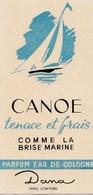 Carte Parfumée - CANOE Parfum DANA - Perfume Cards