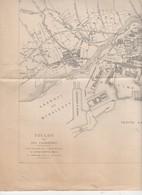Toulon (83 Var)  Carte TOULON ET SES FAUBOURGS  (1/12.000)  En N/b, Sd (PPP10176) - Topographical Maps