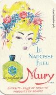 Carte Parfumée - Le Narcisse Bleu - MURY - Perfume Cards