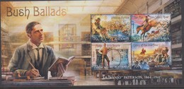 Australia ASC 3203MS 2014 Bush Ballads Miniature Sheet,mint Never Hinged - 2010-... Elizabeth II
