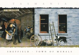 Sheffield, Town Of Murals, North West Tasmania - Unused - Other