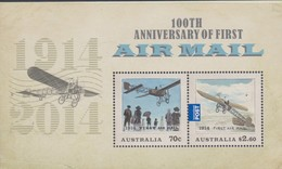 Australia ASC 3210MS 2014 First Air Mail Miniature Sheet,mint Never Hinged - 2010-... Elizabeth II