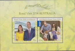 Australia ASC 3212MS 2014 Royal Visit Miniature Sheet,mint Never Hinged - 2010-... Elizabeth II