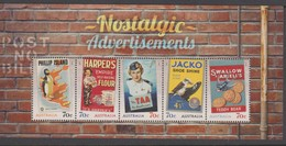 Australia ASC 3226MS 2014 Nostalgic Advertisements Miniature Sheet,mint Never Hinged - Mint Stamps