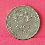 CAPE VERDE 20 ESCUDOS 1982 -    KM# 20 - (Nº27545) - Cabo Verde