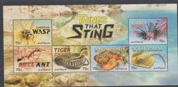 Australia ASC 3241MS 2014 Stingers Miniature Sheet,mint Never Hinged0 - Mint Stamps