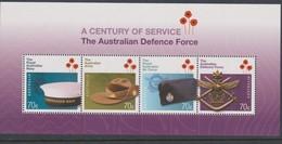 Australia ASC 3252MS 2014 Defence Forces Miniature Sheet,mint Never Hinged - Nuevos