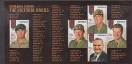 Australia ASC 3266MS 2015 Australian Victoria Cross Legends, Miniature Sheet,mint Never Hinged, - 2010-... Elizabeth II