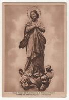 Santino Cartolina Antico Non Viaggiata Madonna Immacolata Da TORRE DEL GRECO - Napoli - Religione & Esoterismo