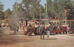 Parc D'Attractions - Petit Train Et Le Cirque - Mer De Sable Ermenonville - Eléphants - Autres