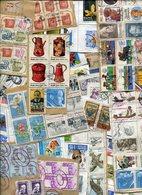 Weltweit / Posten Mit Kiloware, Briefe, Ganzsachen, Marken Etc., Gewicht Ca. 400 Gr. (6276-400) - Briefmarken