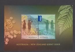 Australia ASC 3289MS 2015 ANZAC Australia -New Zealanda Joint Issue, Miniature Sheet,mint Never Hinged - 2010-... Elizabeth II