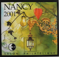 FEUILLET SOUVENIR CNEP - 2001 - NANCY 2001 - N° 33 - NEUF** - SUPERBE - CNEP