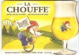 Sous-bock - La Chouffe - Bière Belge Blonde - Brasserie D'Achouffe - Sous-bocks