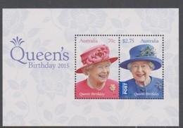Australia ASC 3291MS 2015 Queen Elizabeth II Birthday, Miniature Sheet,mint Never Hinged - Mint Stamps