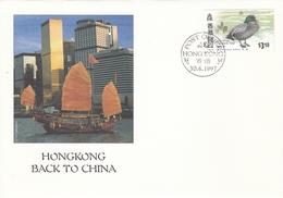 FDC HONG KONG 813 - 1997-... Région Administrative Chinoise