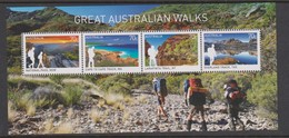 Australia ASC 3318MS 2015 Great Australia Walks, Miniature Sheet,mint Never Hinged - 2010-... Elizabeth II