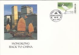 FDC HONG KONG 814 - 1997-... Région Administrative Chinoise