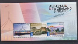 Australia ASC 3322MS 2015 Great Australia ,New Zealand And Singapore Joint Issue, Miniature Sheet,mint Never Hinged - Mint Stamps
