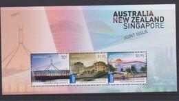 Australia ASC 3322MS 2015 Great Australia ,New Zealand And Singapore Joint Issue, Miniature Sheet,mint Never Hinged - 2010-... Elizabeth II