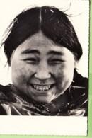 GROENLAND - ESQUIMAUX - Esquimos - Femme Esquimaude Souriante - Format CPM - 2 Scans - Groenland