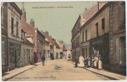02 - VAUX SOUS LAON - GRANDE RUE - France