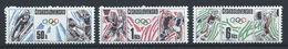 Tchécoslovaquie N°2752/54** (MNH) 1988 - J.O De Calgary Et Séoul - Tchécoslovaquie