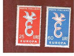 ITALIA REPUBBLICA - UN.  838.839  -   1958    EUROPA    (SERIE COMPLETA DI 2)     -  NUOVI ** (MINT) - 6. 1946-.. Republic