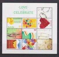 Australia ASC 3373-3382MS 2016 Love To Celebrate, Miniature Sheet,mint Never Hinged - 2010-... Elizabeth II