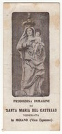 Santino Antico Madonna Del Castello Da Moiano (Vico Equense) - Napoli - Religione & Esoterismo