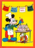 Walt Disney Miky Mouse Dewey Topolino E Quo Buon Natale Merry Christmas - Disneyworld