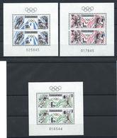 Tchécoslovaquie N°2752/54** (MNH) En Feuillet 1988 - J.O De Calgary Et Séoul - Tchécoslovaquie