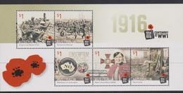 Australia ASC 3398MS 2016 Centenary WWI, Miniature Sheet,mint Never Hinged - 2010-... Elizabeth II