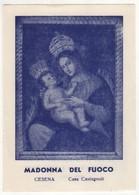 Santino Antico Madonna Del Fuoco Da Cesena -  Forlì-Cesena - Religione & Esoterismo