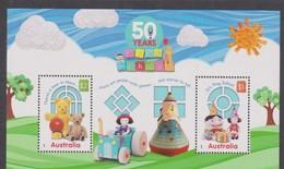 Australia ASC 3414MS 2016 Play School, Miniature Sheet,mint Never Hinged - Mint Stamps
